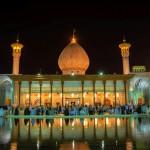 Das Mausoleum von Shah Cheraq in Shiraz