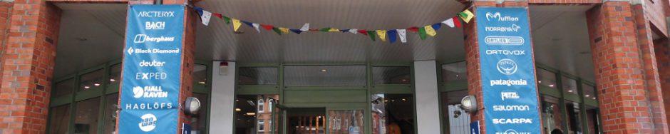 Der Eingang vom ReiseShop