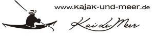 Kajak und Meer