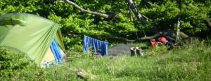 Wäsche aufhängen