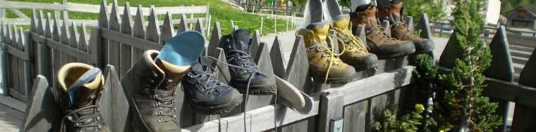 Schuhe in der Sonne