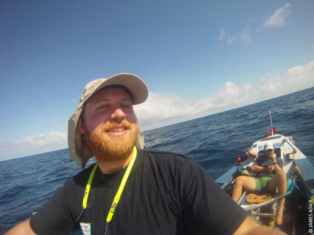 Im Ruderboot auf dem Ocean