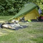 Ein Zelt