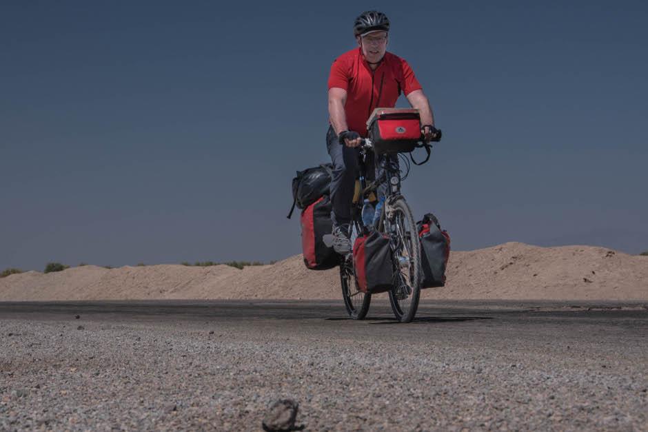 Radfahren im Iran