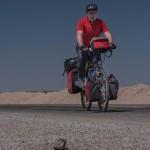 Mit dem Rad durch die Wüste nach Yazd