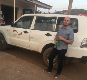Tim Kaiser in Uganda