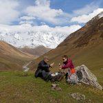 Pause im Kaukasus