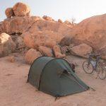 Radreisen: Zelten in der Wüste Namibias