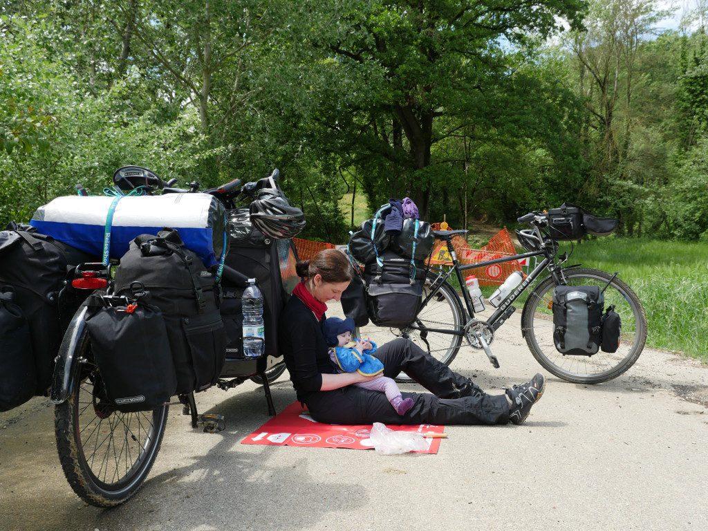 Pause zwischen Rom und Rostock