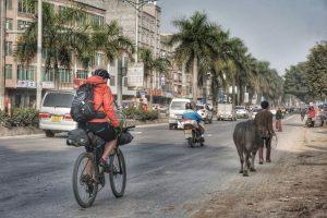 Radfahran in Asiens Städten