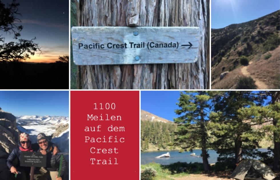 Zu Fuß auf dem Pacific Crest Trail