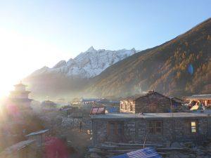 Ein Dorf in Nepal