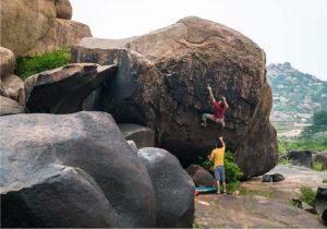 Bouldern im freien