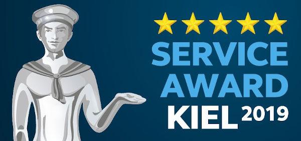 Service Award Kiel 20109