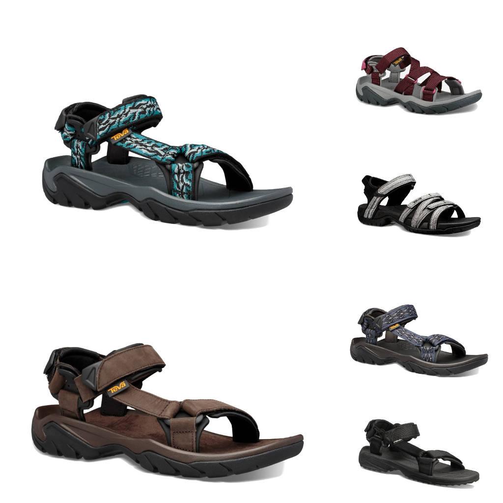 Die Sandalen von Teva